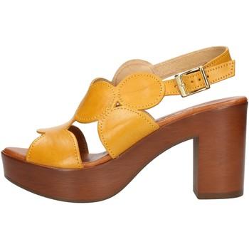 Čevlji  Ženske Sandali & Odprti čevlji Made In Italia 023 Yellow