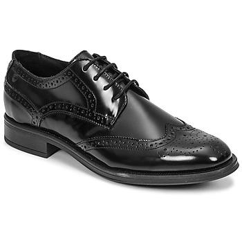 Čevlji  Moški Čevlji Derby Carlington LOUVIAN Črna