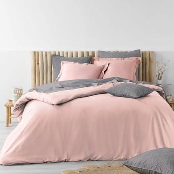 Dom Kompleti posteljnine Douceur d intérieur STONALIA Rožnata