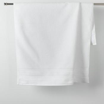 Dom Kopalniške brisače in rokavice za umivanje Douceur d intérieur EXCELLENCE Bela