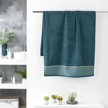 Dom Kopalniške brisače in rokavice za umivanje Douceur d intérieur BELINA Modra