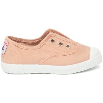 Čevlji  Otroci Tenis Cienta Chaussures en toiles bébé  Tintado rose clair