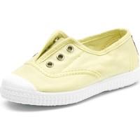 Čevlji  Otroci Tenis Cienta Chaussures en toiles bébé  Tintado jaune pastel