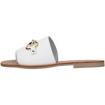 Čevlji  Ženske Natikači S.piero E1-056 WHITE