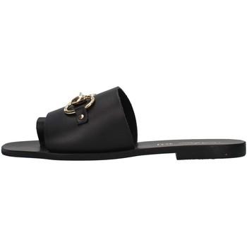 Čevlji  Ženske Natikači S.piero E1-056 BLACK