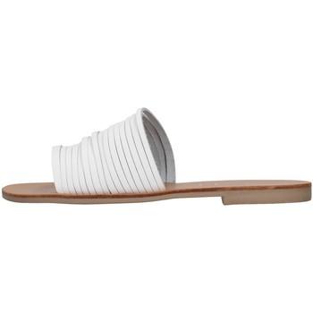 Čevlji  Ženske Natikači S.piero E1-018 WHITE