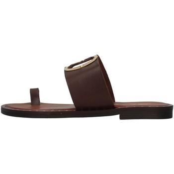 Čevlji  Ženske Natikači S.piero E2-007 BROWN