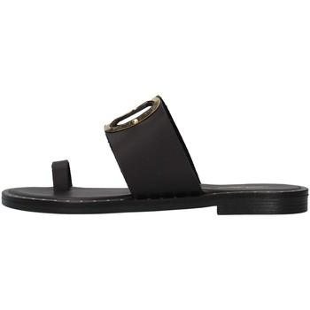 Čevlji  Ženske Natikači S.piero E2-007 BLACK