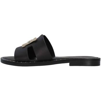 Čevlji  Ženske Natikači S.piero E2-006 BLACK