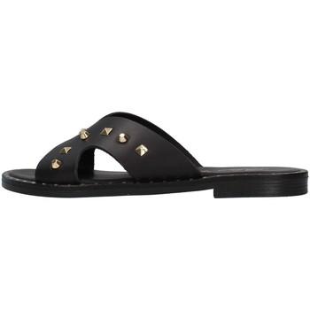 Čevlji  Ženske Natikači S.piero E2-011 BLACK