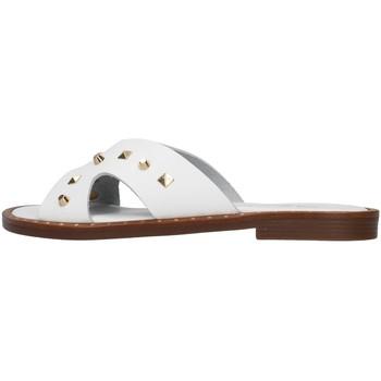 Čevlji  Ženske Natikači S.piero E2-011 WHITE