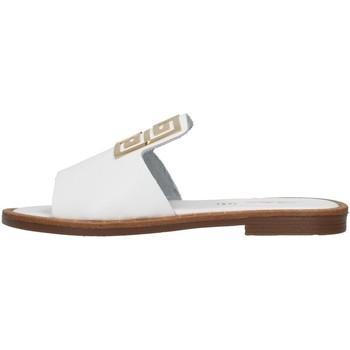 Čevlji  Ženske Natikači S.piero E2-021 WHITE