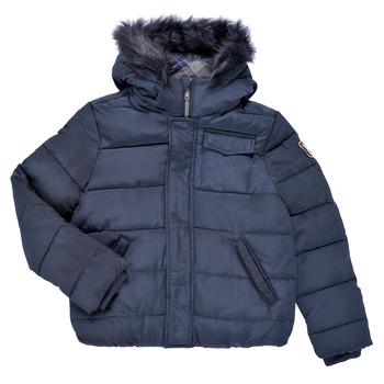 Oblačila Dečki Puhovke Ikks MAGENTA Modra