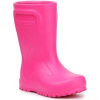 Čevlji  Otroci škornji za dež  Birkenstock Derry Neon Pink 1006288 pink