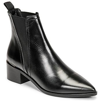 Čevlji  Ženske Gležnjarji Minelli BLERINA Črna