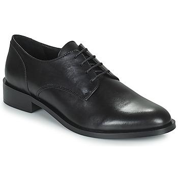 Čevlji  Ženske Čevlji Derby Minelli FRANCIA Črna