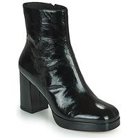 Čevlji  Ženske Gležnjarji Minelli BETTYNA Črna
