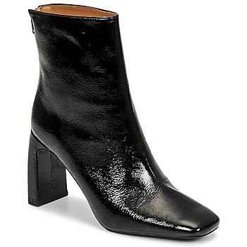 Čevlji  Ženske Gležnjarji Minelli CREMIA Črna