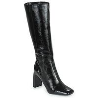 Čevlji  Ženske Mestni škornji    Minelli PALOMA Črna