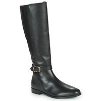 Čevlji  Ženske Mestni škornji    Minelli SELIRA Črna