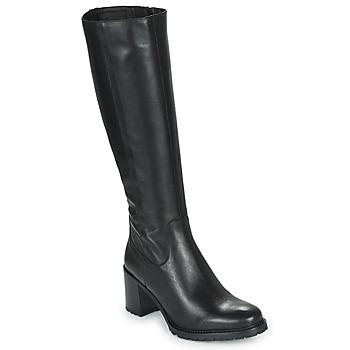 Čevlji  Ženske Mestni škornji    Minelli NELLA Črna