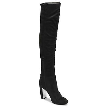 Čevlji  Ženske Mestni škornji    Minelli  Črna