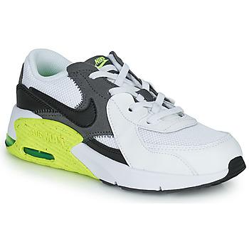 Čevlji  Otroci Nizke superge Nike NIKE AIR MAX EXCEE (PS) Bela / Črna