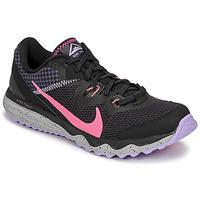 Čevlji  Ženske Tek & Trail Nike WMNS NIKE JUNIPER TRAIL Črna / Rožnata