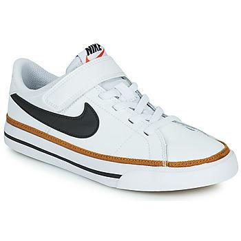 Čevlji  Otroci Nizke superge Nike NIKE COURT LEGACY (PSV) Bela / Črna