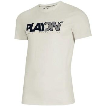 Oblačila Moški Majice s kratkimi rokavi 4F TSM013 Bela