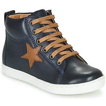 Čevlji  Dečki Visoke superge GBB KANY Modra