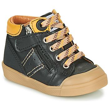 Čevlji  Dečki Visoke superge GBB ANATOLE Črna