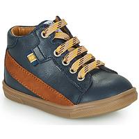 Čevlji  Dečki Visoke superge GBB WESTY Modra