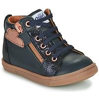 Čevlji  Deklice Visoke superge GBB VALA Modra