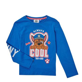 Oblačila Dečki Majice z dolgimi rokavi TEAM HEROES  TEE PAW PATROL Modra