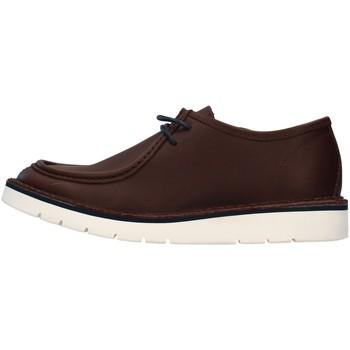 Čevlji  Moški Čevlji Derby Re Blu' BK14 BROWN