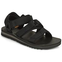 Čevlji  Moški Sandali & Odprti čevlji Teva M Cross Strap Trail BLACK Črna