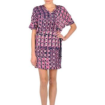 Oblačila Ženske Kratke obleke Stella Forest YRO059 Rožnata