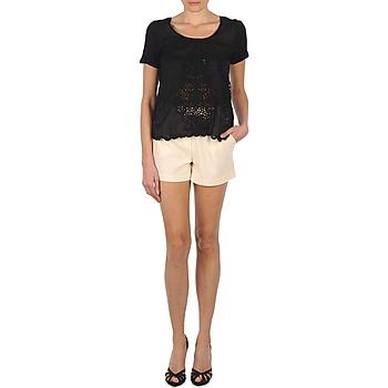Oblačila Ženske Kratke hlače & Bermuda Stella Forest YSH003 Kremno bela