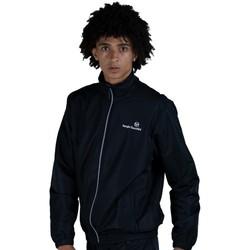 Oblačila Moški Športne jope in jakne Sergio Tacchini Veste  Carson 021 black/white