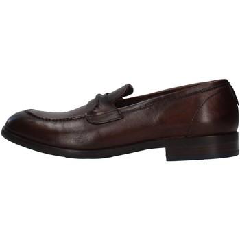 Čevlji  Moški Mokasini Re Blu' 7766 BROWN