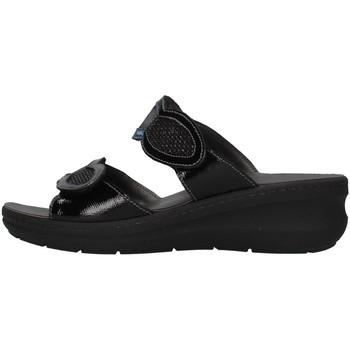 Čevlji  Ženske Natikači Melluso K95203 BLACK