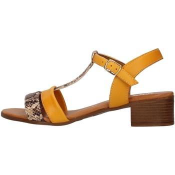 Čevlji  Ženske Sandali & Odprti čevlji Melluso 018826 YELLOW