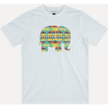 Oblačila Moški Majice s kratkimi rokavi Trendsplant NAVAJO 029940MNAV Bela