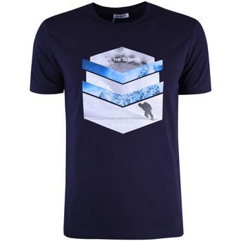 Oblačila Moški Majice s kratkimi rokavi Bikkembergs  Modra