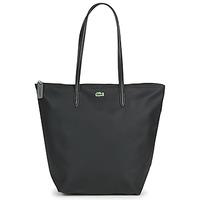 Torbice Ženske Nakupovalne torbe Lacoste L.12.12 CONCEPT LONG Črna