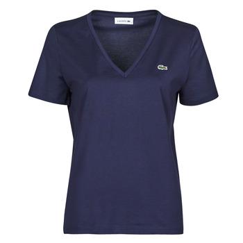 Oblačila Ženske Majice s kratkimi rokavi Lacoste LOUIS Modra