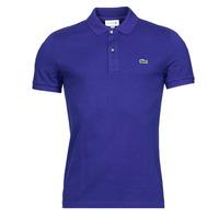 Oblačila Moški Polo majice kratki rokavi Lacoste POLO SLIM FIT PH4012 Modra / King