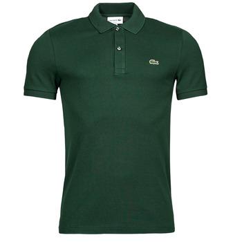 Oblačila Moški Polo majice kratki rokavi Lacoste POLO SLIM FIT PH4012 Zelena