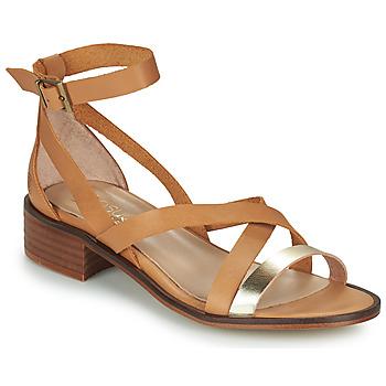 Čevlji  Ženske Sandali & Odprti čevlji Casual Attitude COUTIL Kamel / Zlata